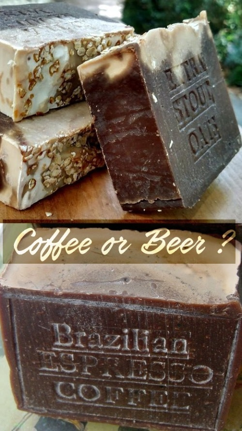 Beer Soap Coffee Soap Natural Handcrafted Soaps