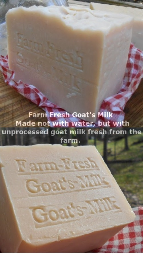 #ThursdayThoughts National Milk Day #NationalMilkDay 100% fresh goat's milk, not dried powder milk. Goat's milk soap