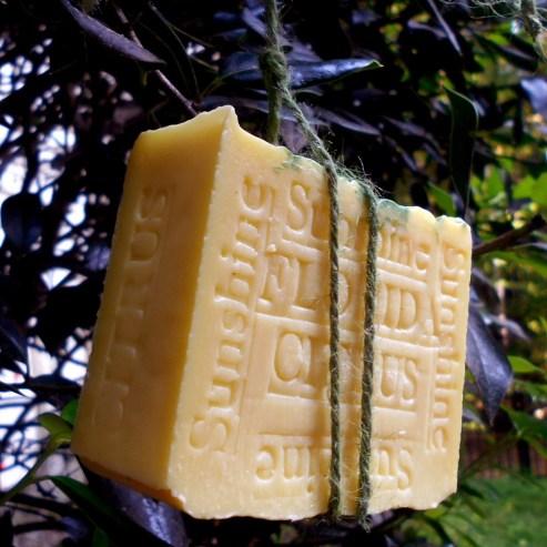 oranges tangerine soap toeliminate blackheads.