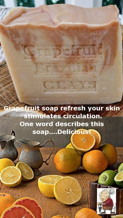 Grapefruit for oily skin and breakouts.