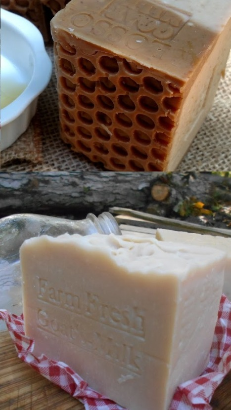 Baby Wash Soaps Goat's Milk Honey Bar