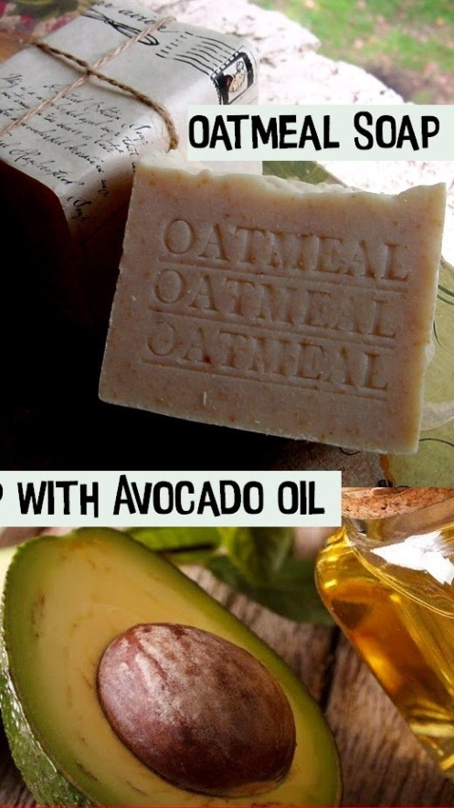 Organic Oatmeal Soap with Mango Butter