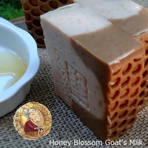 Honey Gold Blossom and Farm Fresh Goat's Milk Soap