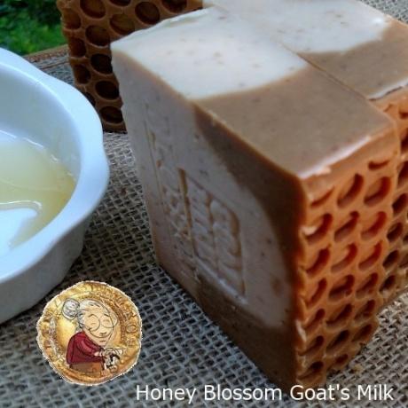 Birthday Gift Soap Bee Honey Blossom