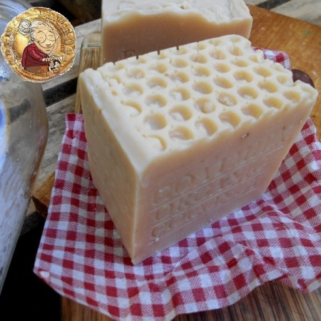 Aged Farm Fresh Goat's Milk and Organic Coconut Milk Soap Large Bar